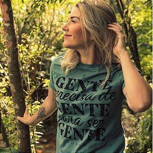 T-shirt Nogah Gente Precisa de Gente Verde