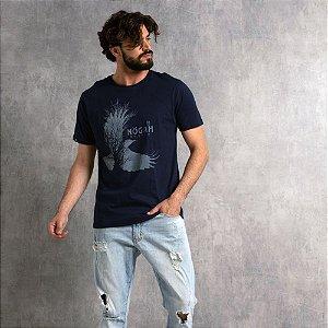 Camiseta Nogah Birdtree Marinho