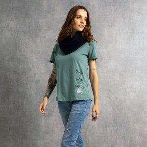 T-shirt Nogah Thankfull Verde
