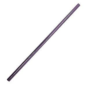 Canudo lilás Ø 6mm reto