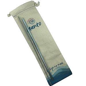 Kit canudo azul Ø 6mm reto