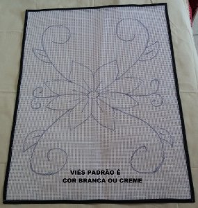 Talagarça Floral 60x80cm
