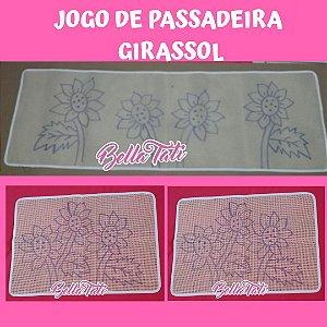 Talagarça Jogo de Passadeira - 03 peças (escolha o modelo desejado)