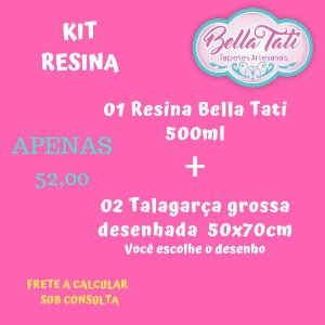 Kit Resina  (escolha as opções)