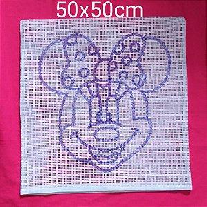 Capa de Almofada Desenhada 50x50cm (escolha o desenho)