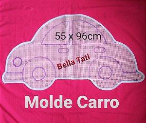 Talagarça Molde Carros (escolha o desenho)