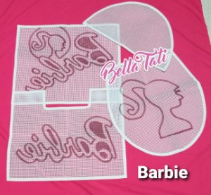 Jogo de Banheiro Barbie 03 peças
