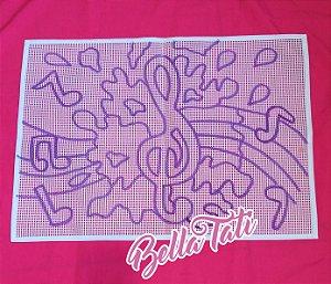 Musical Aquarela 50x70cm