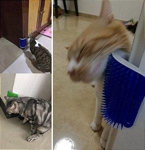 Escova Pente de Massagem Para Gatos