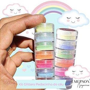 Kit Glitter Pedacinho do Céu