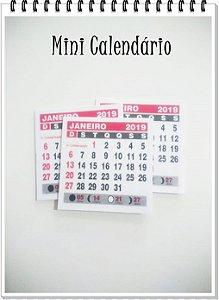 Mini Calendário 2019 (10 unid.)