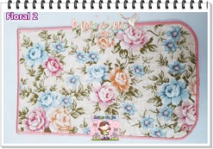 Porta Estecas de Amarrar - Floral 2