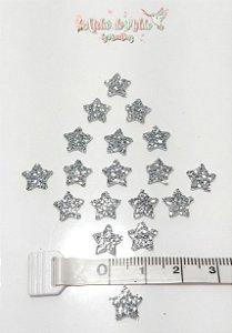 Estrela em E.V.A com Glitter