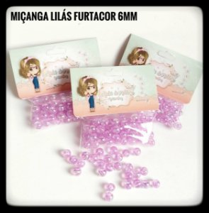 Miçangas Furtacor 6mm