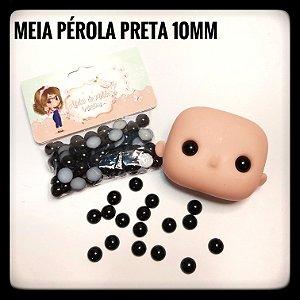 Meia Pérola Preta