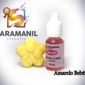 Corante Liquido Amarelo Bebê