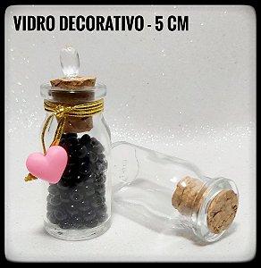 Vidro Decorativo - 5cm
