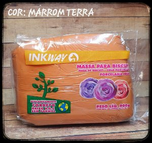 Massa Ink Way - Marrom Terra