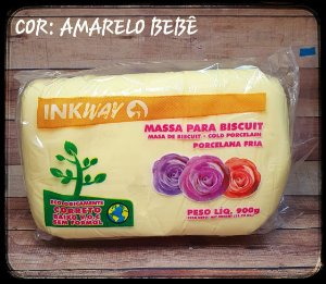 Massa Ink Way - Amarelo Bebê