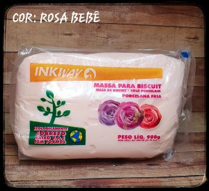 Massa Ink Way - Rosa Bebê