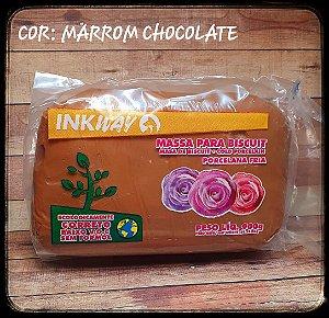 Massa Ink Way - Marrom Chocolate