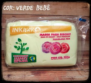Massa Ink Way - Verde Bebê