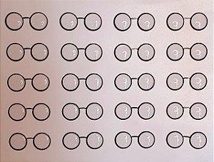 Óculos Redondinho - Transparente