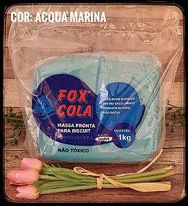 Massa para Biscuit FOX - Aqua Marine