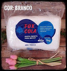 Massa de Biscuit FOX - Branco