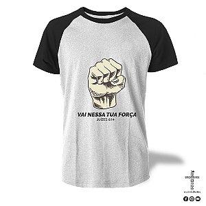 Camiseta Raglan - Juízes 6:14