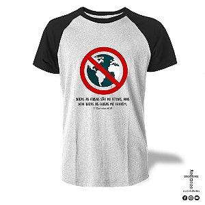 Camiseta Raglan - 1 Coríntios 6:12