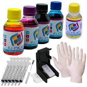 Kit Avançado para Recarregar cartuchos de impressoras HP