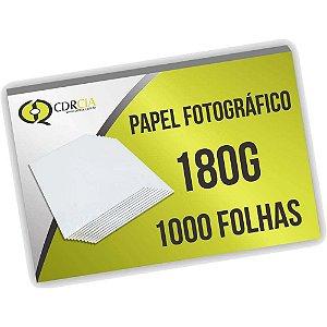 Papel Fotográfico 180g 1000 Folhas