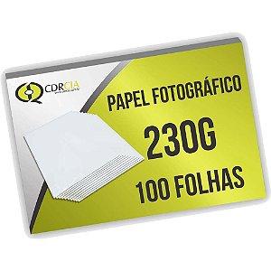 Papel Fotográfico 230g 100 Folhas