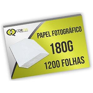 Papel Fotográfico 180g 1200 Folhas
