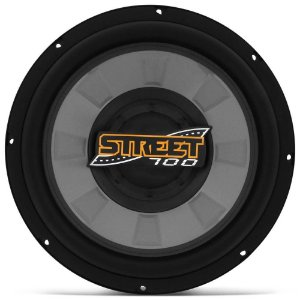 Subwoofer Spyder Street Low Bass 200w Rms 4 Ohms Cinza
