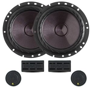 Kit 2 Vias Bravox Cs60p Falante 6 + Mini Tweeter 200w Rms