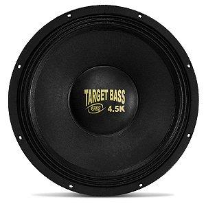 Subwoofer Alto Falante Eros Target Bass 4.5K 15 Pol. 2250w 4 Ohms