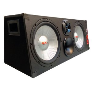 Caixa Trio Selada Gx Audio Bsb12500 1200w + Driver + Tweeter + Modulo