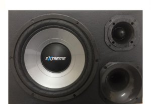 Caixa Trio Mini Extreme 12'' 440w Rms + Driver + Tweeter