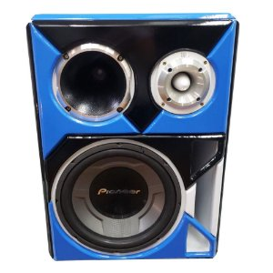 Caixa Bob Residencial Trio Som Forte Pioneer JBL Bluetooth