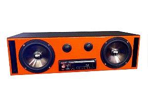 Caixa Residencial Bob JBL Kit 2 Vias Pioneer Bluetooth Labirinto