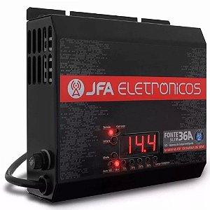 Filtro Automotivo Jfa 36A com Voltímetro 1800w Rms