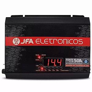 Fonte Automotiva Jfa 50a Com Sistema De Carga Inteligente