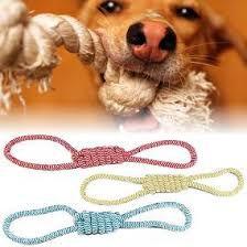 Brinquedo p/ Cães Cachorro Mordedor Corda Puxador Jambo
