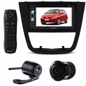 Kit Central Multimidia Dvd Gol Voyage G5 + Moldura + Brinde