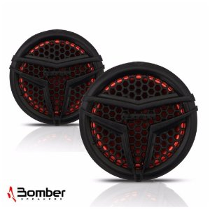 Par Mini Tweeter Bomber Bl20 160w Rms 4 Ohms Som Automotivo*