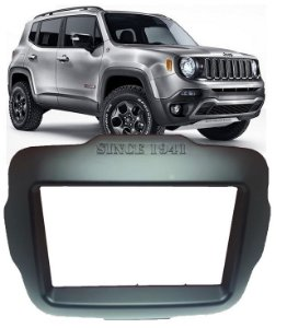 Moldura Jeep Renegade Dvd 2 Din Multimidia 2015 a 2019