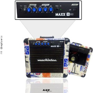 Cubo Amplificador Guitarra Mackintec Maxx15 USA