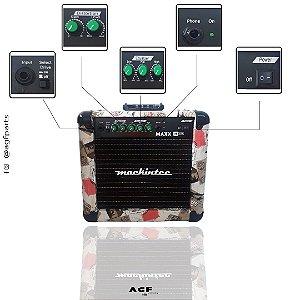 Cubo Amplificador Guitarra Mackintec Maxx15 Italy